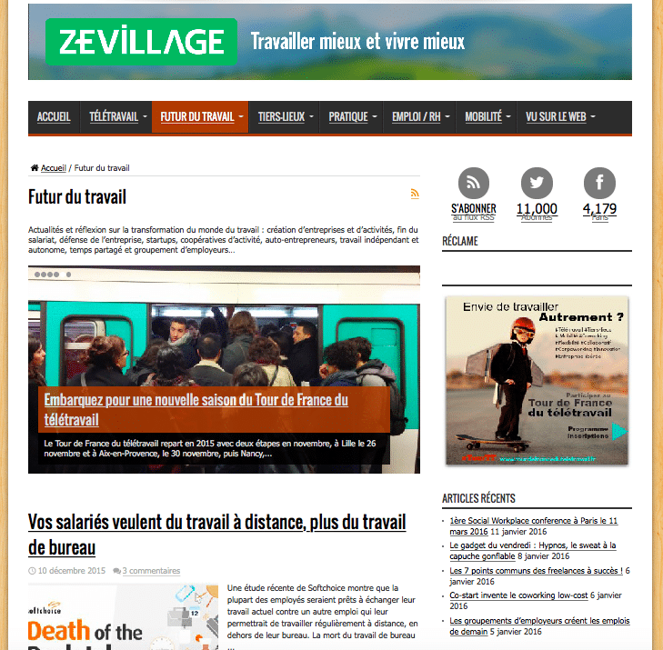 Coworking-Zevillage