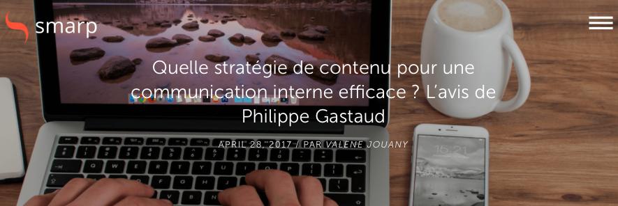 Quelle stratégie de contenu pour une communication interne efficace