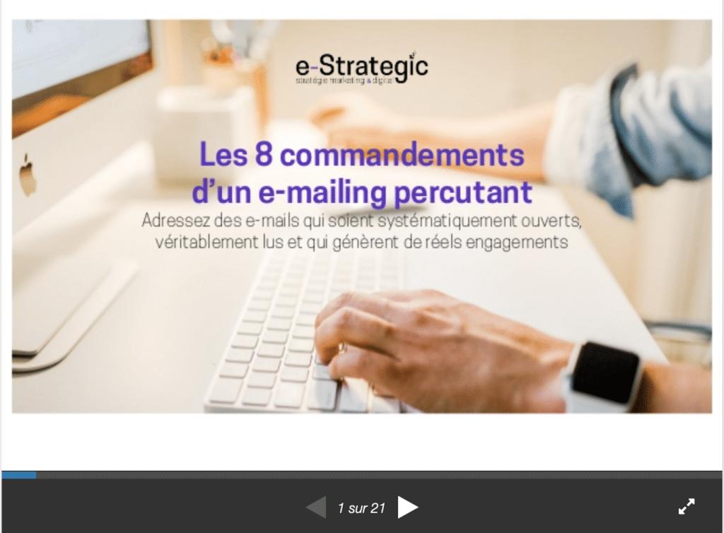 emailings percutants slideshare